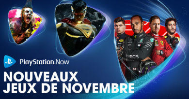 Les sorties Playstation Now du mois de Novembre
