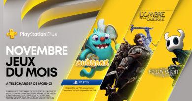 Jeux PS Plus offerts au mois de Novembre et plus d'infos sur PS Plus Collection pour PS5