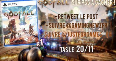 Concours ! Gagne un exemplaire boîte de GODFALL sur PS5