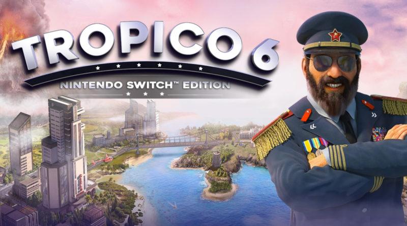 tropico 6 sur Switch