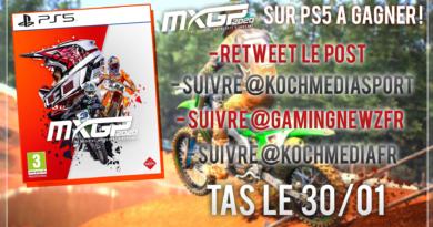 Concours ! Gagne un exemplaire en boîte de MXGP 2020 sur PS5